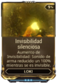 Invisibilidad silenciosa