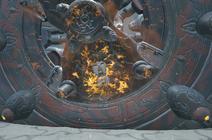 Puerta de acometida derritiendose