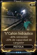 Cañón hidráulico
