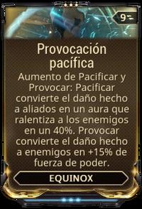 Provocación pacífica
