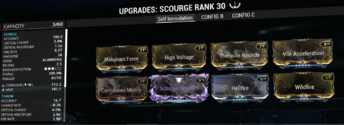 Updated Scourge Build