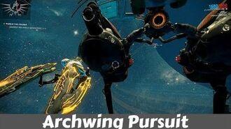 Warframe Archwing Pursuit Pandora Saturn-1