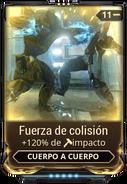 Fuerza de colisión