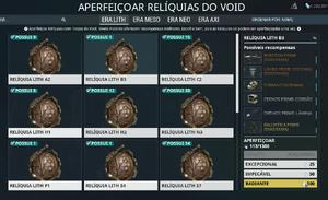 Void Relics U19