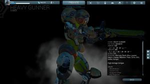 Heavy Gunner Codex