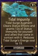 Tidal Impunity