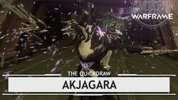 Warframe Akjagara, Another Fish in the Sea thequickdraw
