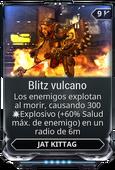 Blitz vulcano