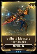 Ballista Measure