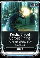 Perdición del Corpus Prime