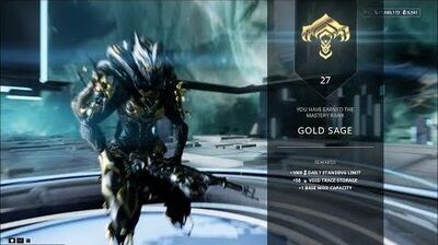 Warframe - Mastery Rank 27 Test