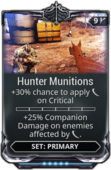 HunterMunitionsMod