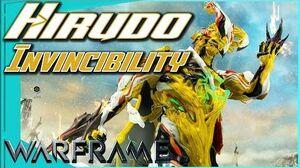 HIRUDO - Invincibility Trick Warframe