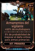 Armamentos del vigilante