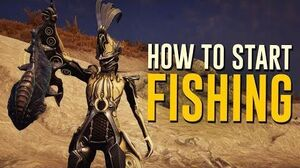 How to start Fishing! Plains of Eidolon (Warframe)