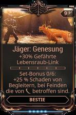 Jäger: Genesung
