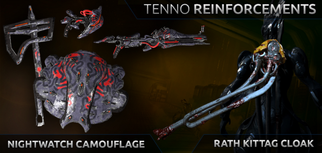 Update 17.1.0 Tenno Reinforcements
