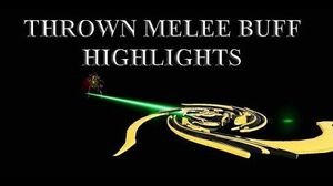 WARFRAME - Thrown Melee Buff Highlights Glaive Prime Charged Throw Navigator
