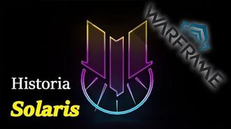 Historia Warframe - Solaris