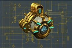 Plano llave dragón deteriorada - reducción de escudos