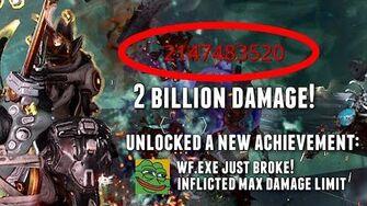 Warframe THE 2 BILLION DAMAGE SQUAD BUILDS & SETUP MAX DAMAGE LIMIT REACHED!