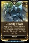 GrowingPowerMod