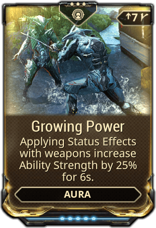 Growing Power Warframe Wiki Fandom Powered By Wikia