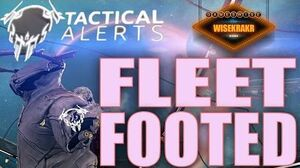 Warframe Operations - TACTICAL ALERT FLEET FOOTED Arson Eximus & Tolling Sigil