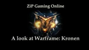 A look at Warframe Kronen