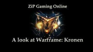 A look at Warframe Kronen
