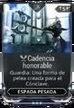 Cadencia honorable