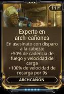 Experto en arch-cañones