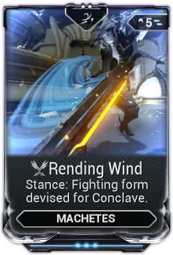 Rending Wind Warframe Wiki Fandom Powered By Wikia