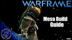 Warframe Mesa Build Guide (U15.10