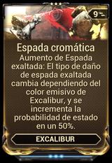 Espada cromática