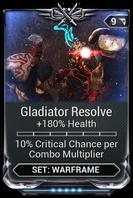 Gladiator Resolve