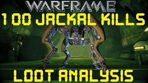 Warframe - Loot From 100 Jackal Kills