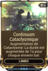 Continuum Cataclysmique