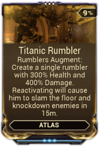 TitanicRumblerMod