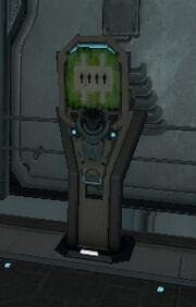 Консоль лифта