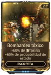 Bombardeo tóxico