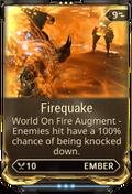 Firequake