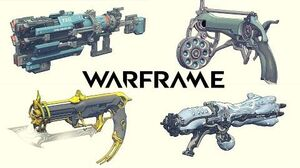 Warframe Concept Art - Weapons
