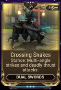 Crossing Snakes