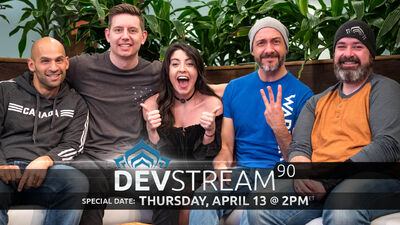 Devstream 90 banner