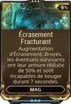 Ecrasement Fracturant