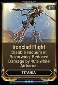 IroncladFlightMod