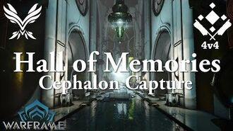 Warframe Conclave Cephalon Capture Hall Of Memories