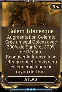 Golem Titanesque