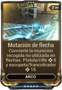 Mutación de flecha